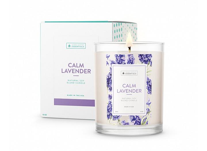 Essentials Calm Lavender Candle