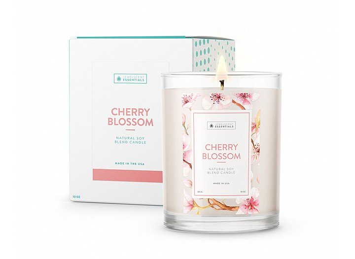 Essentials Cherry Blossom Candle