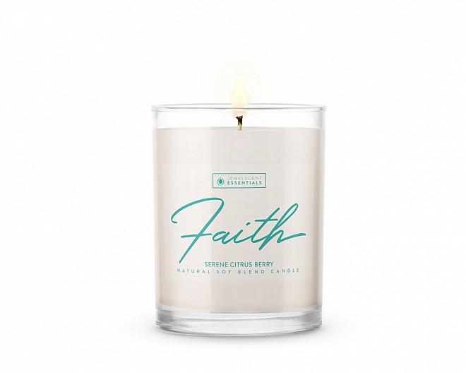 Essentials Faith Candle