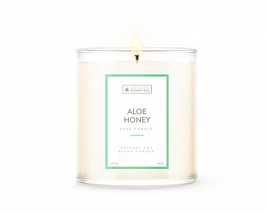 Essentials Luxe Aloe Honey Candle
