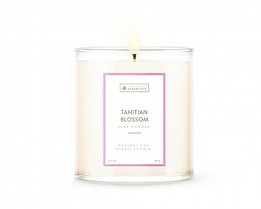 Essentials Luxe Tahitian Blossom Candle