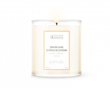 Essentials Luxe Sparkling Citrus Blossom Candle