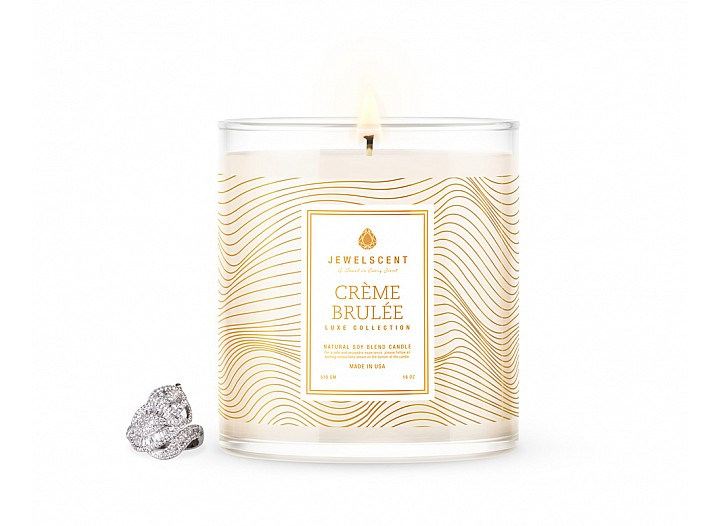 LUXE Creme Brulee Jewelry Candle
