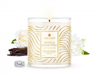 LUXE Vanilla Seduction Jewelry Candle