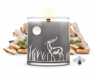 LUXE Midnight Campfire Jewelry Candle