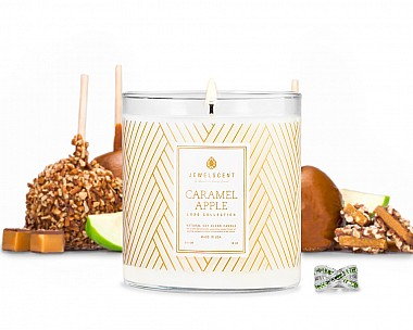 Luxe Caramel Apple Jewelry Candle