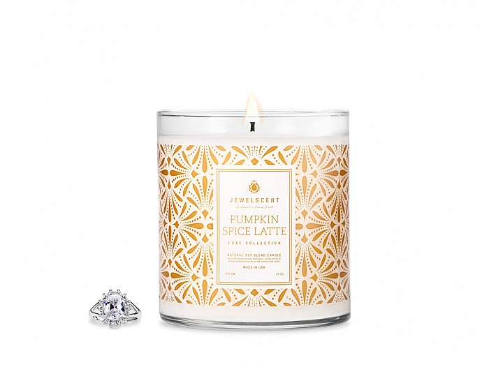 LUXE Pumpkin Spice Latte Jewelry Candle