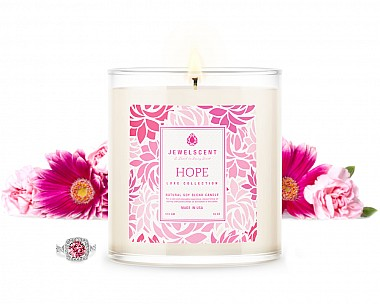 LUXE Hope Jewelry Candle