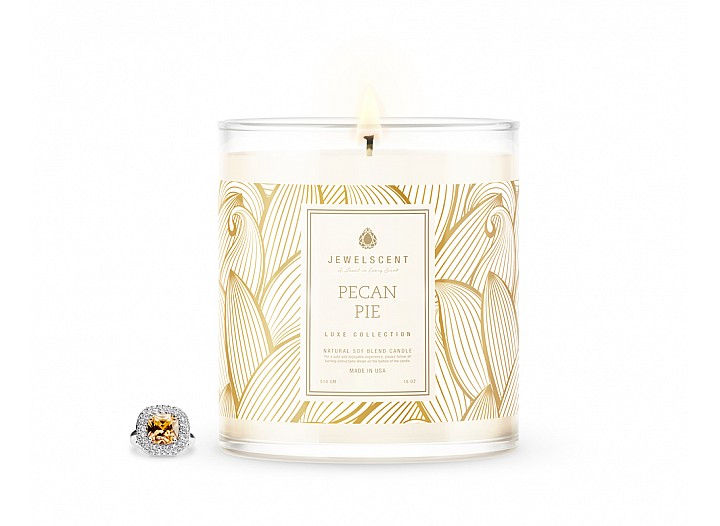 LUXE Pecan Pie Jewelry Candle