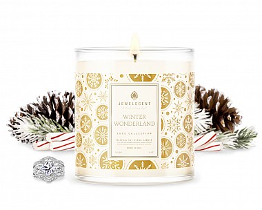 LUXE Winter Wonderland Jewelry Candle