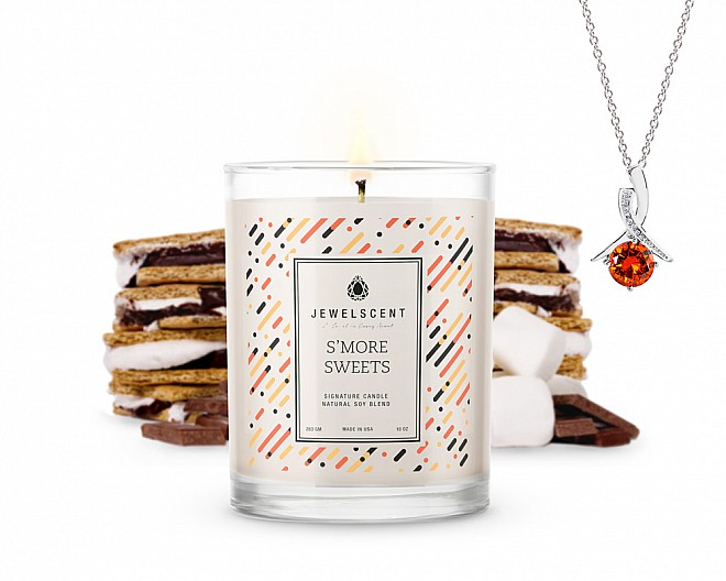 Signature S'more Sweets Jewelry Candle