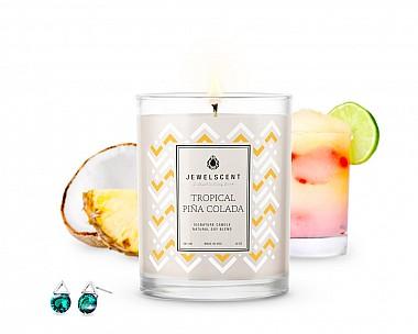 Signature Tropical Pina Colada Jewelry Candle