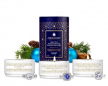 2017 Holiday Trio 3-Tin Jewelry Candle Set