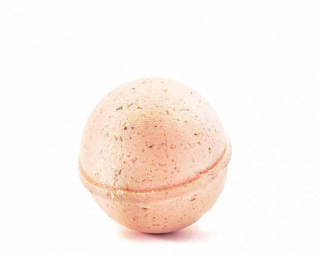 25mg Cheer CBD Essential Oil Bath Bomb (Tangerine | Full Spectrum 0.0% THC)