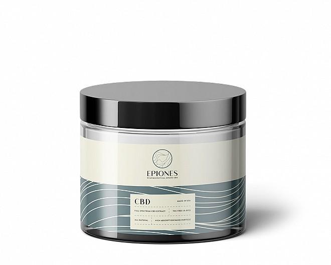 250mg CBD Topical Cream (Full Spectrum 0.0% THC)