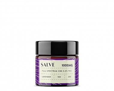 1000mg CBD Salve (Lavender | Full Spectrum 0.0% THC)