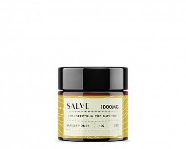 1000mg CBD Salve (Vanilla Honey | Full Spectrum 0.0% THC)