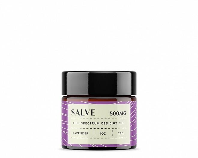 500mg CBD Salve (Lavender | Full Spectrum 0.0% THC)