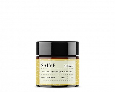 500mg CBD Salve (Vanilla Honey | Full Spectrum 0.0% THC)