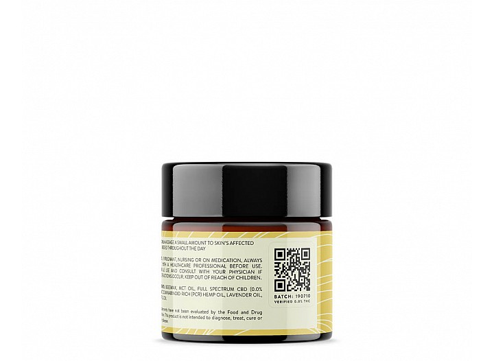 500mg CBD Salve (Vanilla Honey   Full Spectrum 0.0% THC)