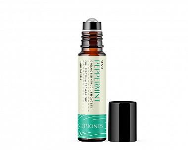 100mg CBD Essential Oil Sense Roller (Peppermint | Full Spectrum 0.0% THC)
