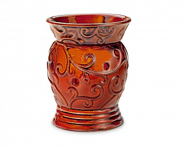 Carved Crimson Warmer