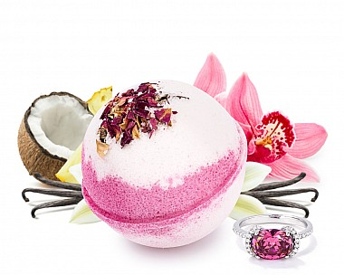 Be My Valentine Jewelry Bath Bomb
