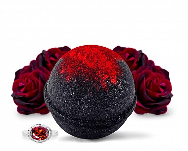 Black Widow Jewelry Bath Bomb