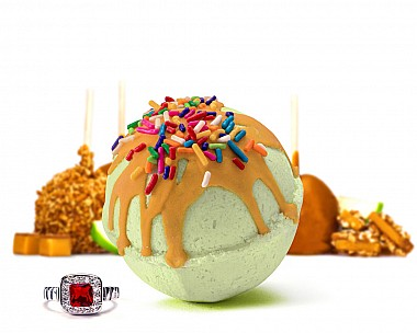 Carnival Apple Jewelry Bath Bomb
