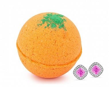 Carrot Cake Jewelry Earrings Bath Bomb