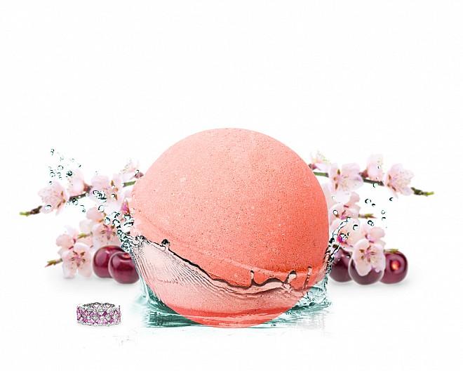 Cheeky Cherry Jewelry Bath Bomb