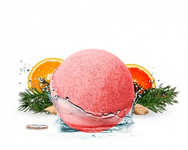 Citrus Woods Jewelry Bath Bomb