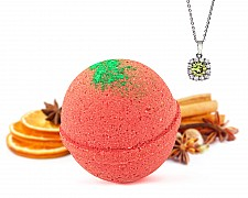 Elf in the Tub Necklace Bath Bomb