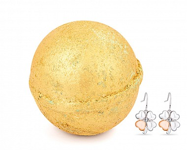 Fool's Gold Jewelry Earrings Bath Bomb
