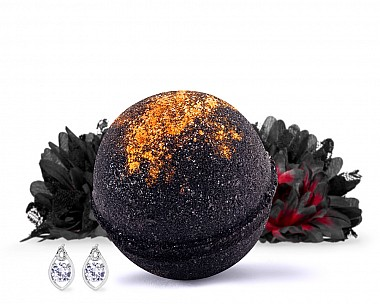 Full Moon Earrings Bath Bomb