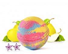 Golden Pear Jewelry Bath Bomb