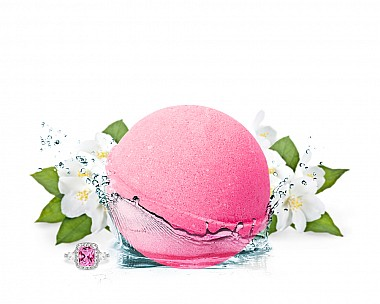 I Dream of Jasmine Jewelry Bath Bomb