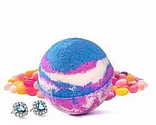 Jelly Bean Jewelry Bath Bomb