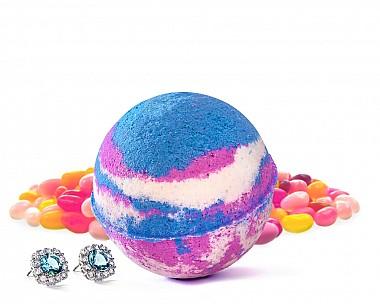 Jelly Bean Jewelry Bath Bomb