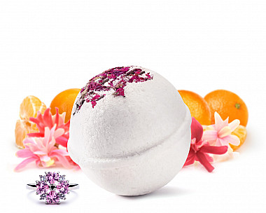 Love Me, Love Me Not Jewelry Bath Bomb