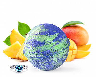 Mother Earth Jewelry Bath Bomb