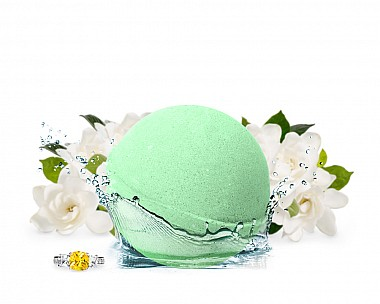 Oh My Gardenia Jewelry Bath Bomb