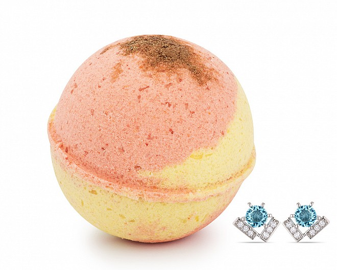 Pear Apple Cider Jewelry Earrings Bath Bomb