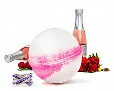 Pink Champagne Jewelry Bath Bomb
