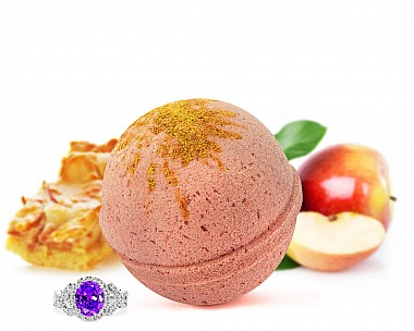 Pumpkin Apple Pie Jewelry Bath Bomb