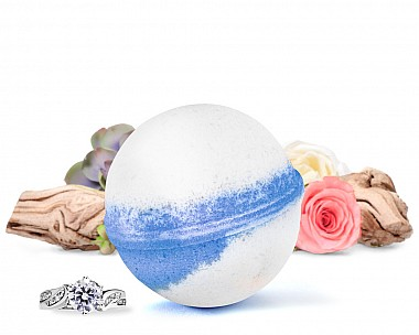 Seaside Romance Jewelry Bath Bomb
