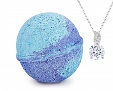 Southern Magnolia Jewelry Necklace Bath Bomb