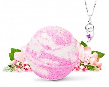 Survivor Necklace Bath Bomb