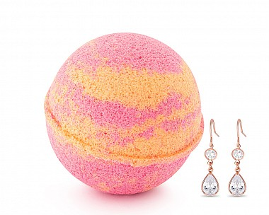Tropical Punch Jewelry Earrings Bath Bomb
