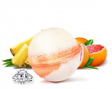 Tropical Sunrise Jewelry Bath Bomb